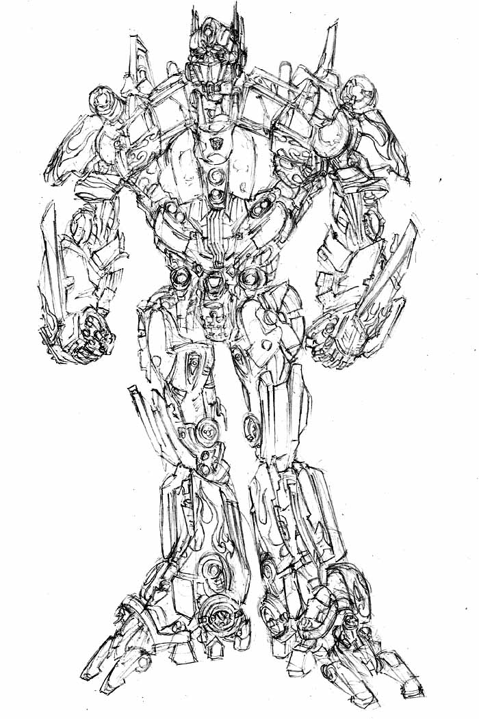 Movie Optimus Prime by phil-cho on DeviantArt