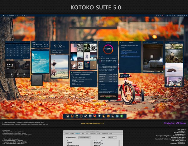 20+ Install Rainmeter Skin Pictures and Ideas on Meta Networks