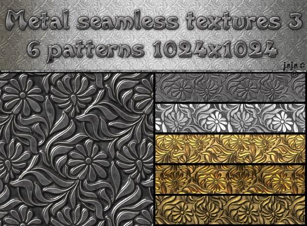 Metal Seamless Textures Pack 3 Jojo-ojoj Deviantart