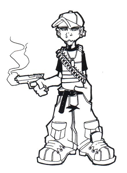 Thug Kid by flashfek4 on DeviantArt