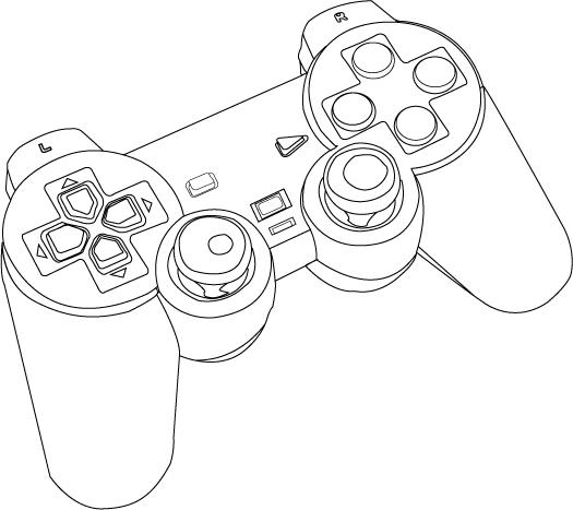 Vector PS2 Controller by SomGuye on DeviantArt