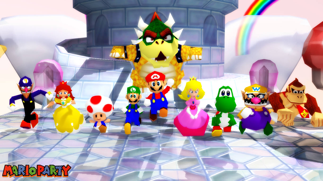 MMD Model Mario Party 64 Download By SAB64 On DeviantArt