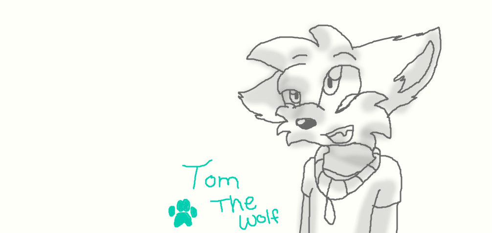 .:Commission:. Tom the Wolf by dreamer-the-wolf-3 on