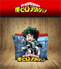 Boku Hero Academia Icon Folder Alla13 Deviantart