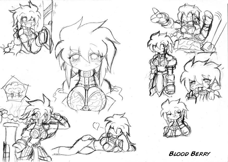 Sketch: Bloodberry by SeemosYantra on DeviantArt