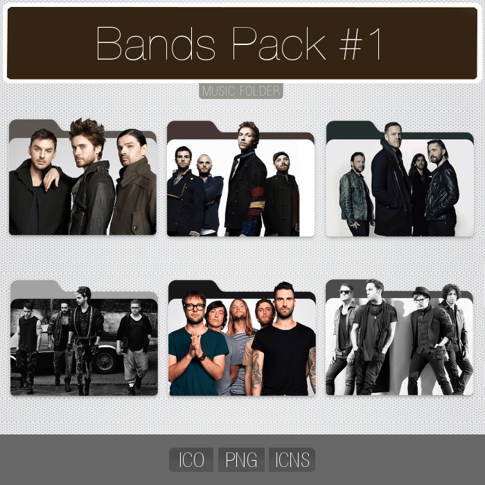 Fall Out Boy Mac Wallpaper Bands Pack 1 Folder Icon Pack By Yosemitedesign On