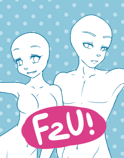 Free To Use Anthro Base Female And Male By Shadow Pupx