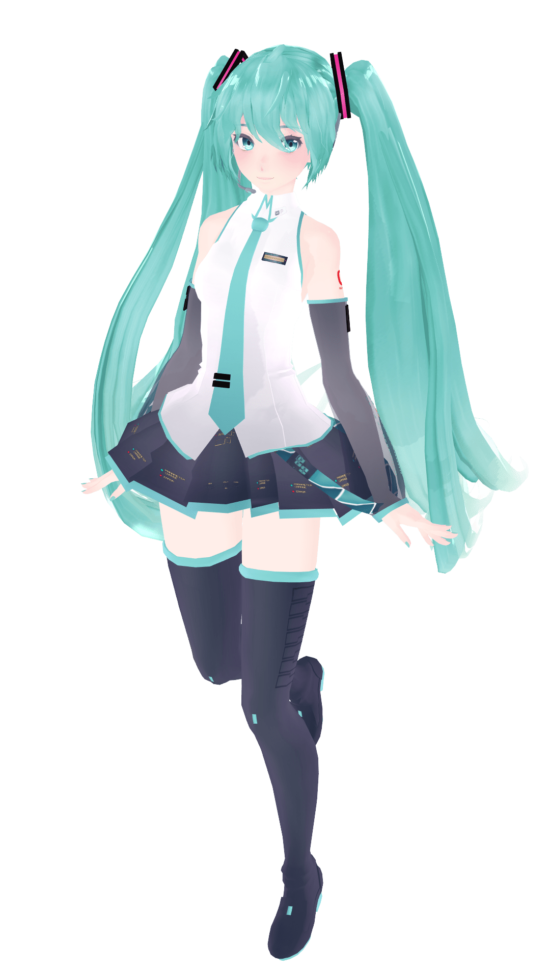 Wallpaper Love You Girl Mmd Dl Miku V3 Pose By Supericecreamyum On Deviantart