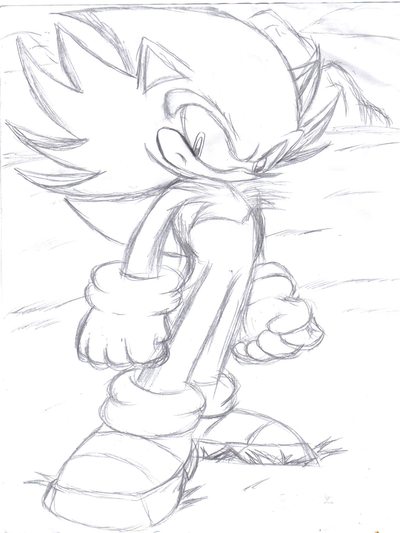 Hyper Shadic the Hedgehog by jayshi on DeviantArt