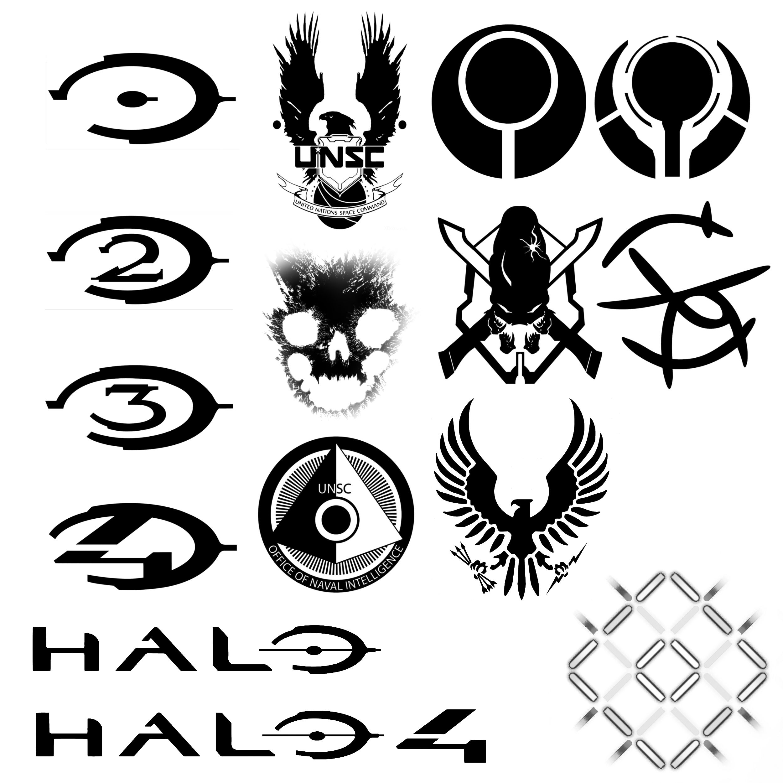 15 Hi-Def halo themed brushes by Nick004 on DeviantArt