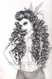 curly hair ambercherrybomb