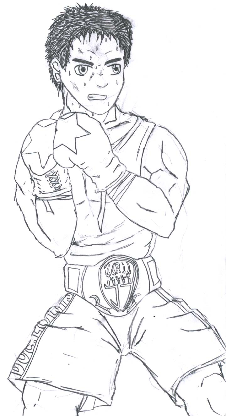 Mike Tyson Punch Out Coloring Pages