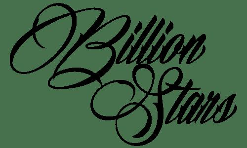 +' Billion Stars {font} by PartyAllNightBTR on DeviantArt