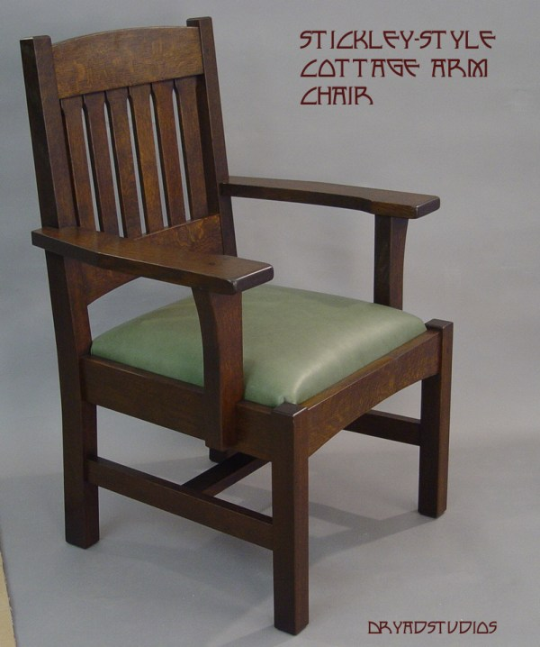 Stickley Cottage arm chair by DryadStudios on DeviantArt