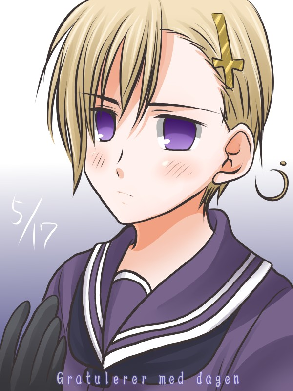 Hetalia 7 Minutes In Heaven Norway Butter Cookie By