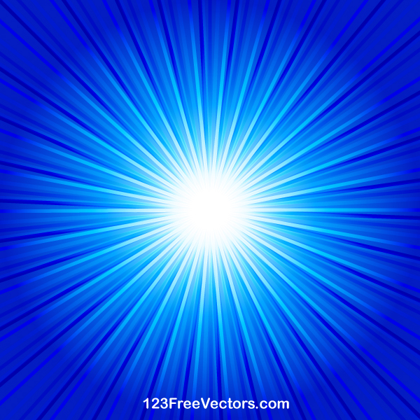 Star Wallpaper Hd Abstract Blue Starburst Background Vector By