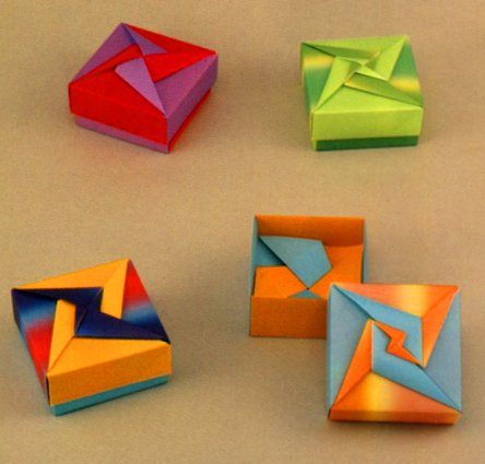 chicken wing diagram ear scala origami boxes - tomoko fuse (book)