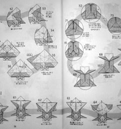 horse by hideo komatsu origami gazelle diagram hideo komatsu origami giraffe diagram [ 2204 x 1610 Pixel ]
