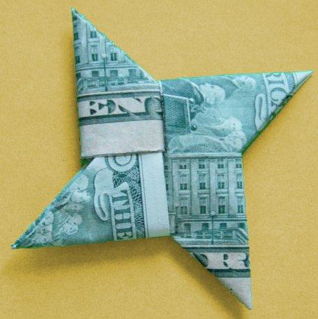 money origami diagram emerson sensi thermostat wiring shuriken