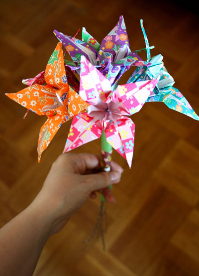 Origami Flowers Folding Instructions Origami Rose Origami Lily And Origami Tulip Photos And
