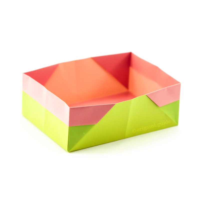 How To Make a Traditional Rectangular Origami Box