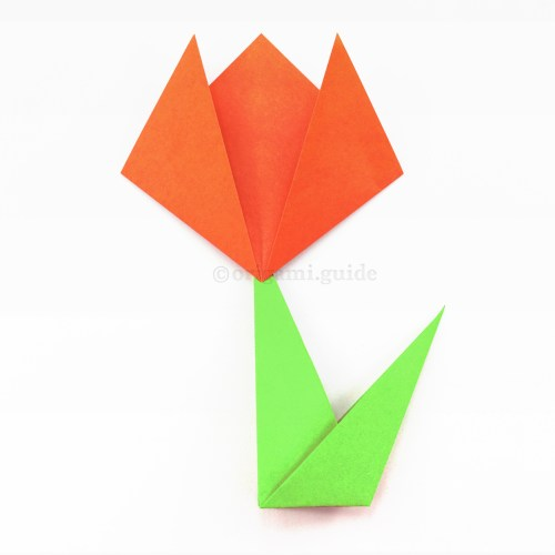 Learn How To Make An Easy Origami Flower