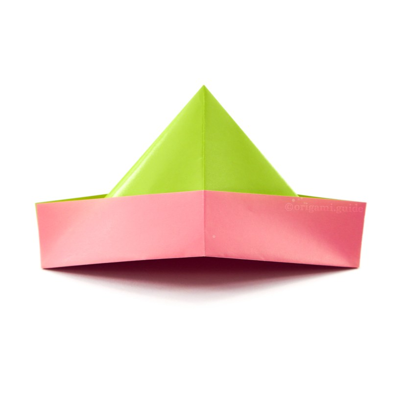 How To Make An Easy Origami Hat Origami Guide