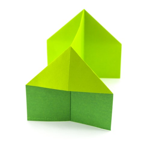 How To Make An Easy Origami House