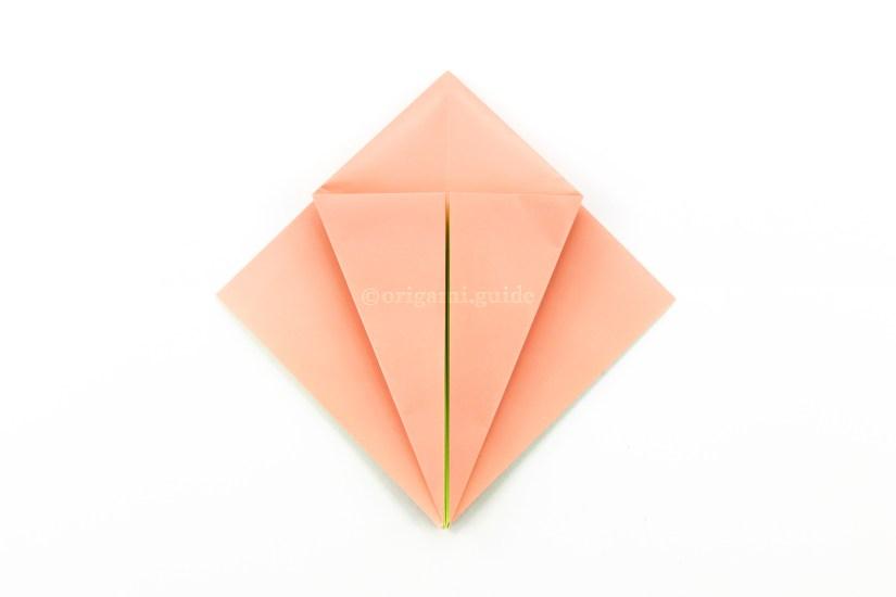18. Do the same with the bottom left diagonal edge.