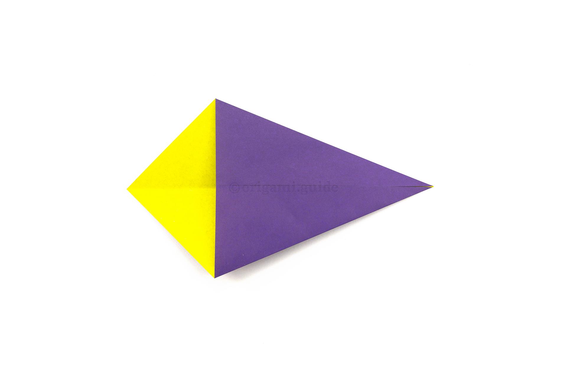 Easy Origami Diamond Tutorial - Paper Kawaii | 1280x1920