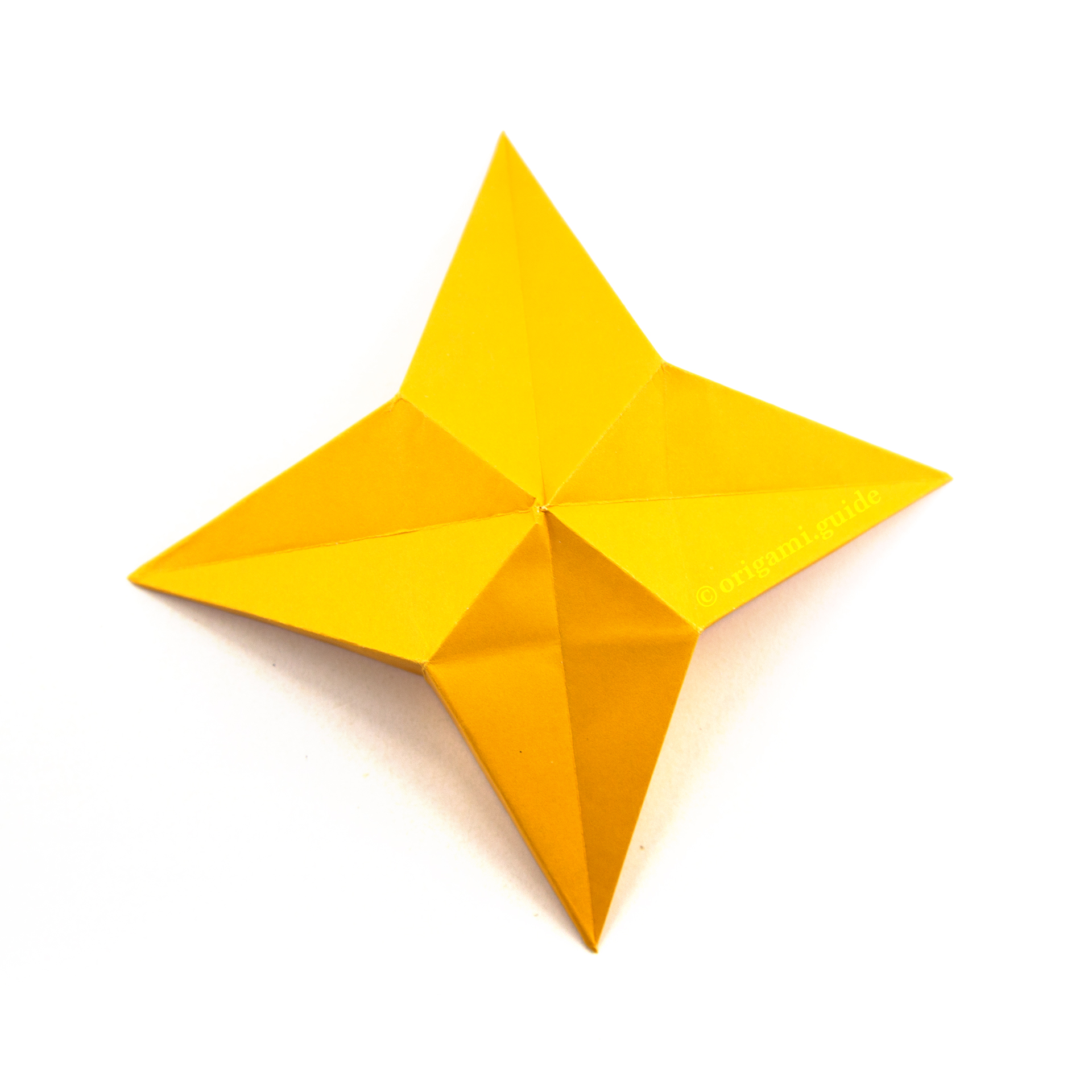 Origami Star - Start with any size square of midweight paper by ... | 1920x1920