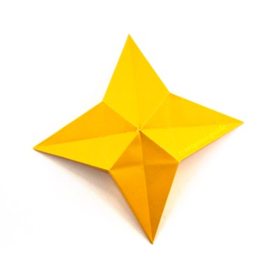 How To Make A Modular Origami Star