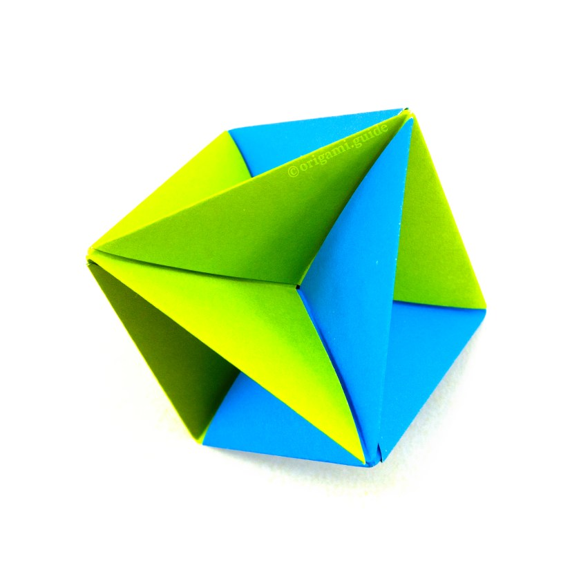 How To Make A Modular Origami Spinning Toy