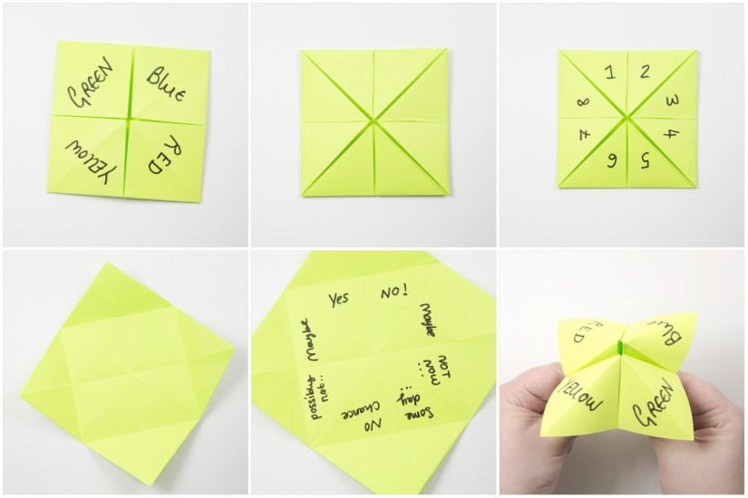 20. Here is an example of how to write a quick 'fortune' game onto it.