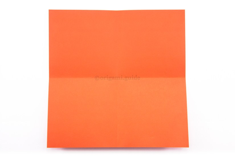 5. Unfold the paper.