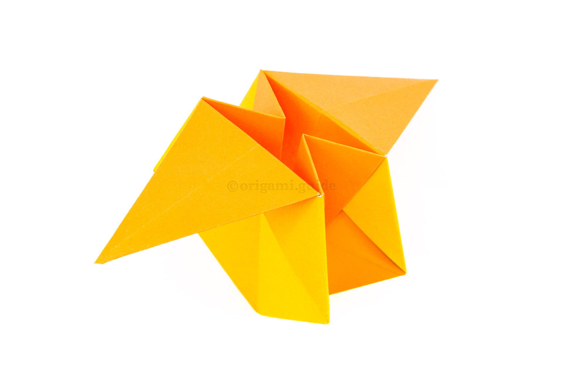 How To Make An Origami Star Box Origami Guide Part 4
