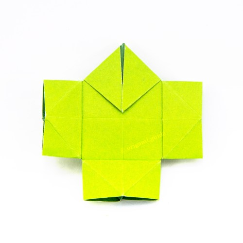 How To Make Origami Mountain & Valley Folds