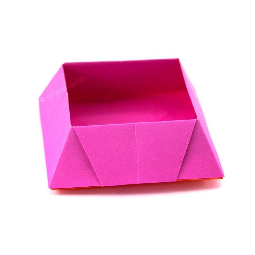 How To Make An Origami Candy Box