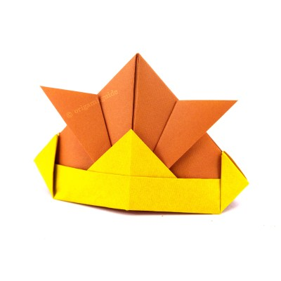 How To Make An Easy Origami Hat