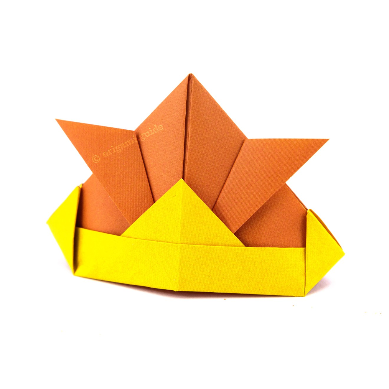 How To Make An Origami Samurai Hat