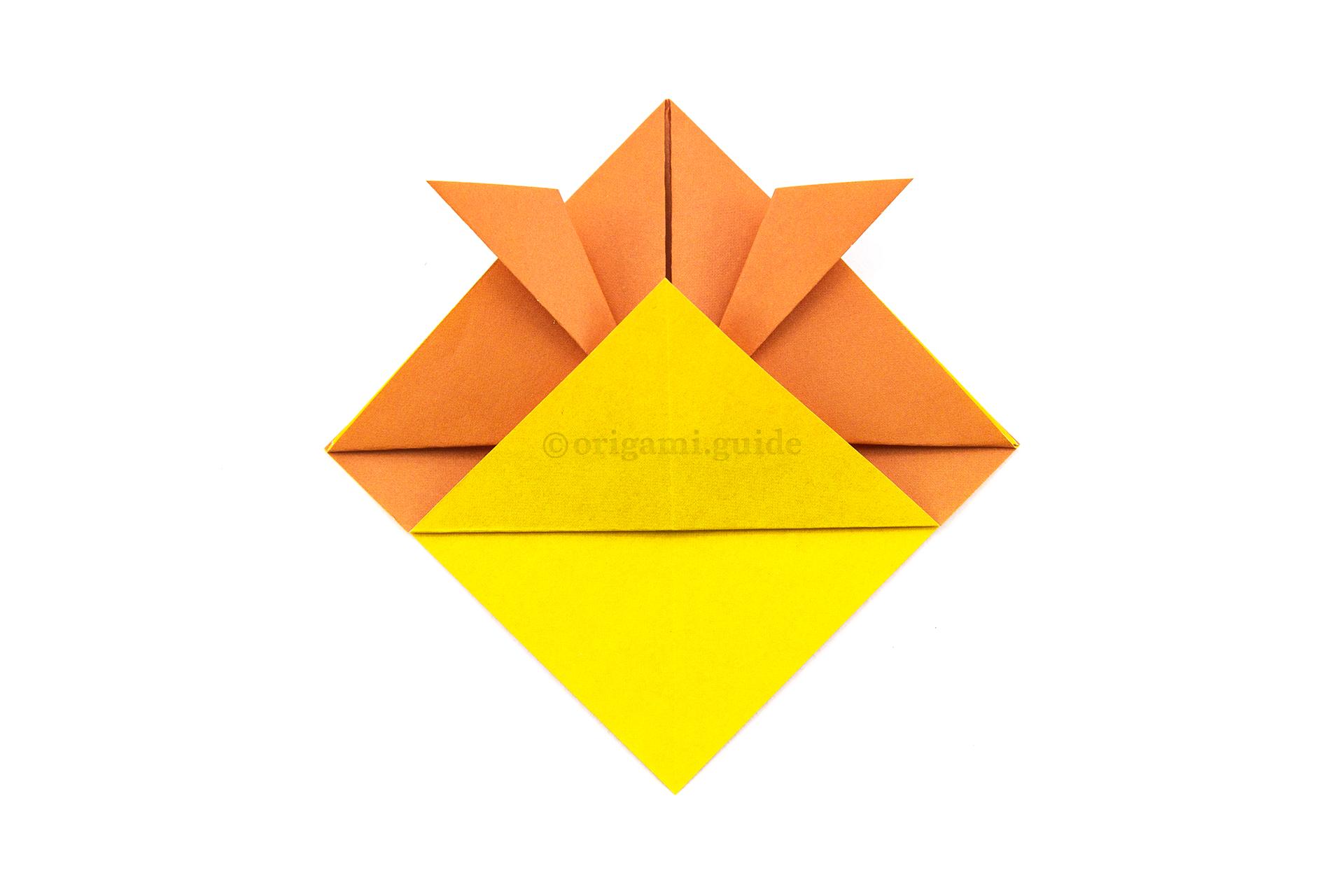 Origami Hat (Top Hat | Origami hat, Origami top hat, Origami hat ... | 1280x1920