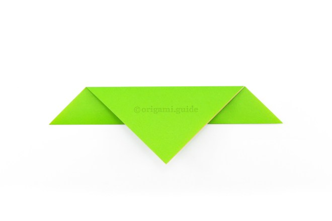 5. Flip the paper over to the other side.
