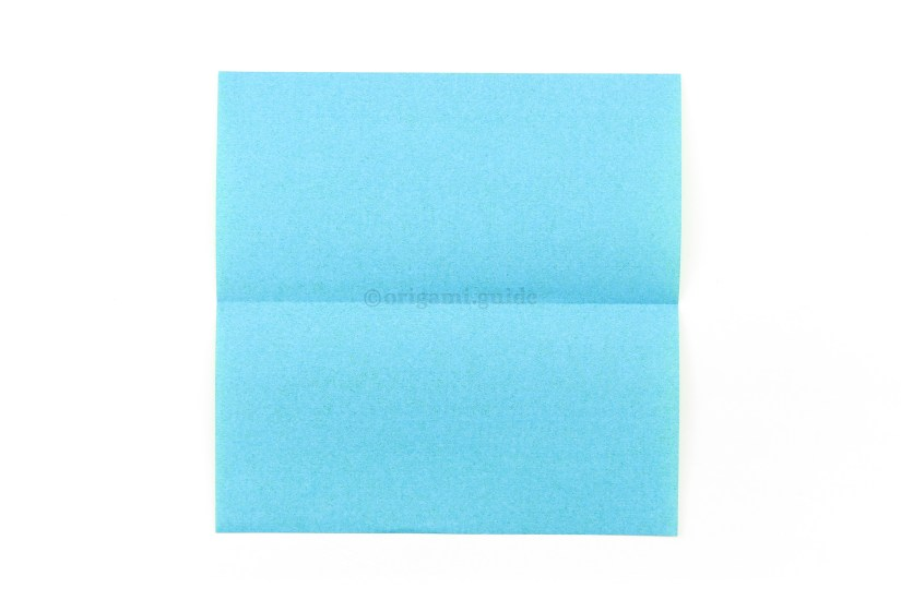3. Optionally, if you want to make the butterfly thinner, open the paper back out -