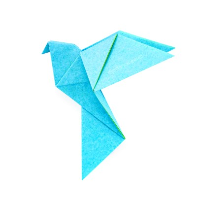 How To Make An Origami Flapping Butterfly