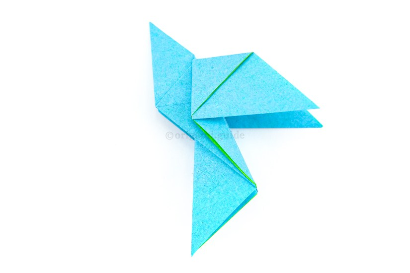 28. Rotate the paper, you can now see it's a bird!