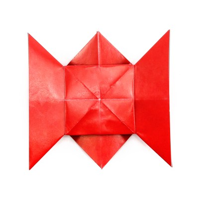 How To Make An Origami Love Knot Letterfold