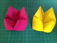 折り紙のパクパク 簡単な折り方