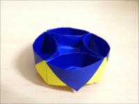 折り紙 入れ物(箱)簡単な折り方