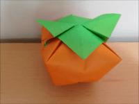 折り紙 柿 立体 簡単な折り方