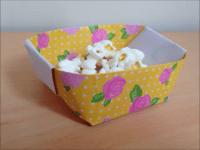 折り紙 入れ物 簡単な折り方